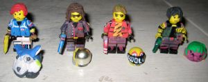 Lego Killjoys by IcarusMach9