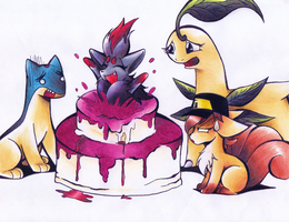 GIFT: The cake is a lie by GeniusRKO35