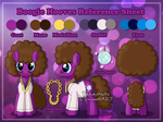 [Commission] Reference Sheet: Boogie Hooves by Veemonsito