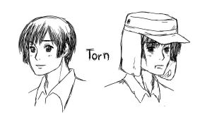 APH line up - Torn by randomsketchez