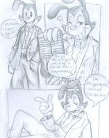 Yakko Comic by Kaylith