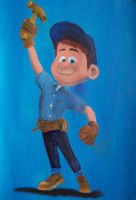 Fix-it Felix Jr. by billywallwork525