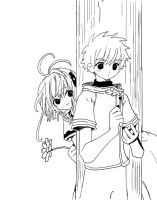 .:A Flower for Syaoran:. by 221bee