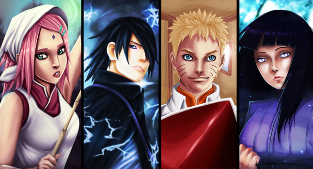 Naruto 700 Collab by Yahik0