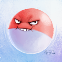 100 - Voltorb by TsaoShin