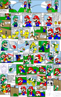 super mario bros page 39 by Nintendrawer