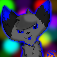 My first Paint Tool SAI drawing by SaraTheDog848