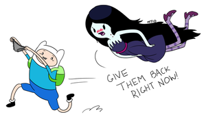 Stealing Marceline's panties by empty-10
