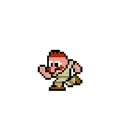 8-Bit Running Nigel Thornberry by MelolzuGaming
