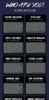 The Infernal Devices MBTI Chart by KandyHunter