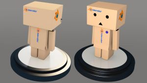 Danbo_Blender Version by ChukChuk92
