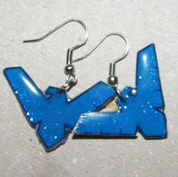 Nightwing Earrings by Himu-Chan