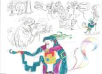 The Book of Life OC Quetzalcoatl by Scared2dream