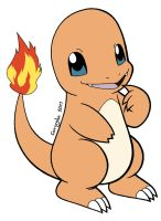 004 Charmander by Guillo-Carregha