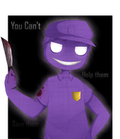 -Commission- Purple Guy by LunaticLily13