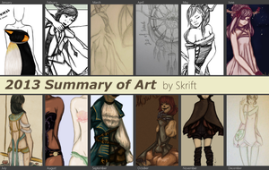 Summary of 2013 in Art by by-MK
