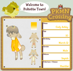 PKMN Crossing App - Cody by lNTERNETZ