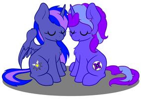 The Night Ponies by AbyssSeraphic
