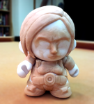 Commander Shepard Munny Toy WIP (before painting) by Garrenh