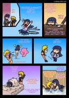 NaruHina Coffee Madness by nads6969