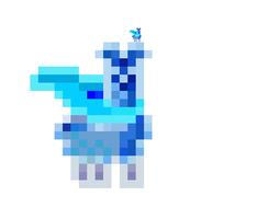 SUPER ICE LLAMA by 0LightsOut1