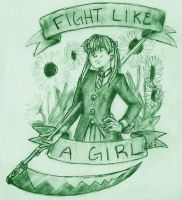 Fight Like a Girl by guardian-angel15