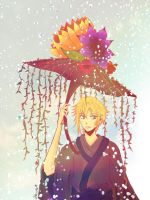 Flowers Umbrella by Nyeru