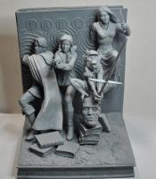 Fables Bookends, 3 by LocascioDesigns