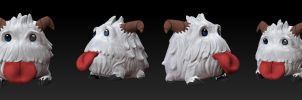 Poro from League of legends by LegionxD