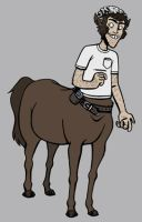 Artemis Fowl - Foaly by black-rider