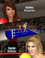 Ashley vs Sarah by Tetsuo72