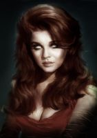 Zombie Ann Margret by Drochfuil