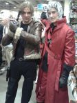 Fan Expo 2014 Leon And Dante by DanteVergilLoverAR