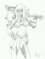 Thor's Daughter by tat2tiger