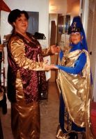 The Kai of Bajor and the Empress of Vulcan by Empress-XZarrethTKon