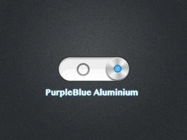 PurpleBlue Aluminium.theme by Studio-Sanchez
