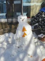 this is what I do with 8-10 inches of snow by I-LOVE-SASUKEKUN
