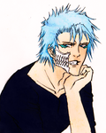 Grimmjow by Mari-lle