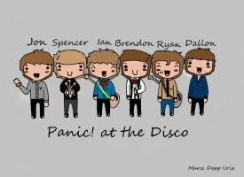 Panic at the Disco FAMILY by Marcewentzurie