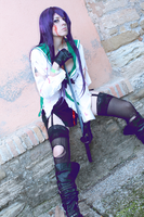 Rough Sword... Saeko Busujima Cosplay by Shady-Chan