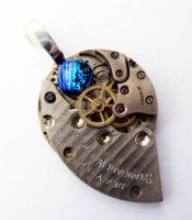 TIME PIECE 3D PENDANT by Create-A-Pendant