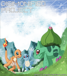 Digimonified - The starters by Shoyu-Rai