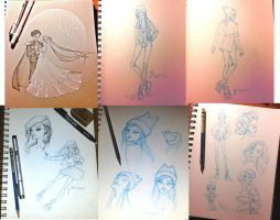 Sketchdump 05 2015 by Kayuna-Chan