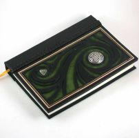 Celtic Swirl Leather Journal by McGovernArts