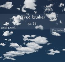 Cloud brushes - set 04 by LunaNYXstock