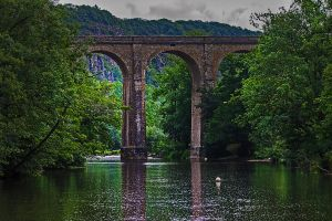 viaduct   Viaduc by hubert61