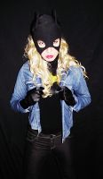 Batgirl Cosplay - Getting Changed! by ozbattlechick