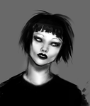 Speed art - Alice Glass by alison-nyash