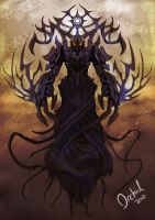 Ahriman by TheOrckid