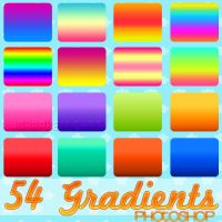 Gradients Photoshop by NyaAkemiChan